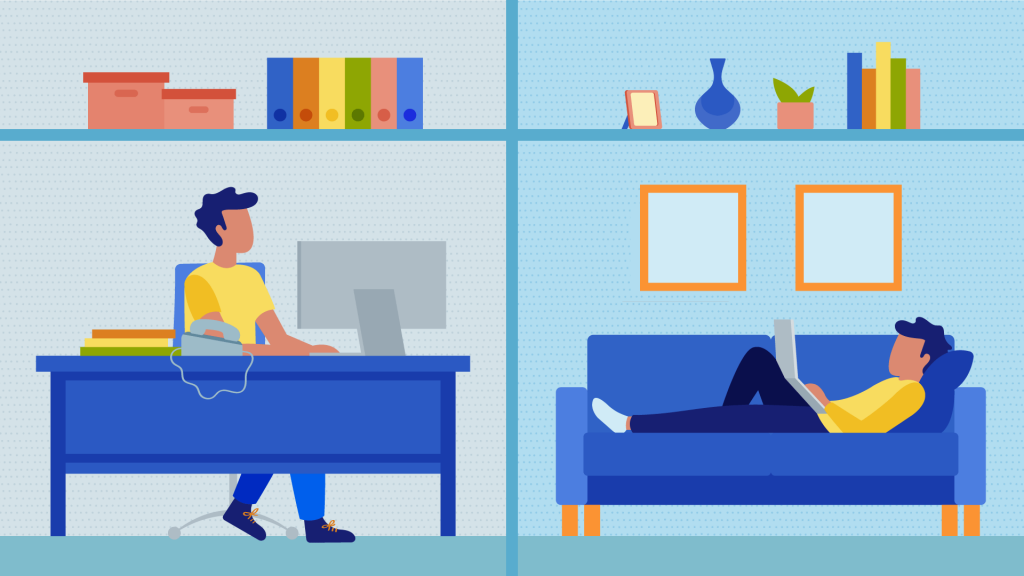 coworking vs working from home